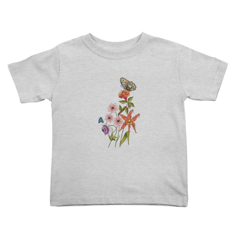 Natural History Kids Toddler T-Shirt by mwashburnart's Artist Shop