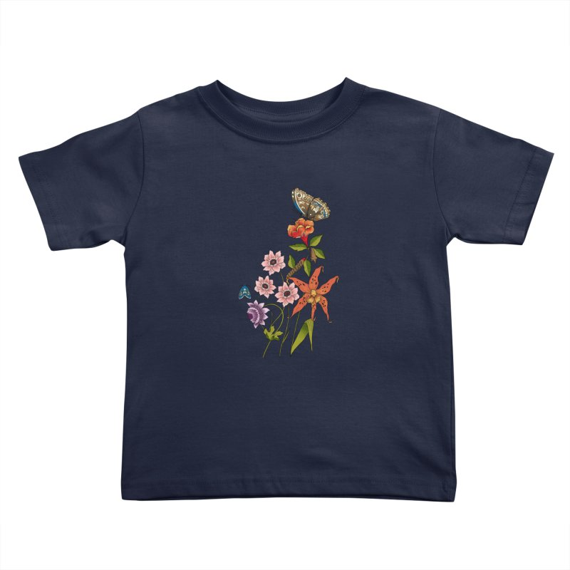 Natural History Kids Toddler T-Shirt by mwashburnart's Artist Shop