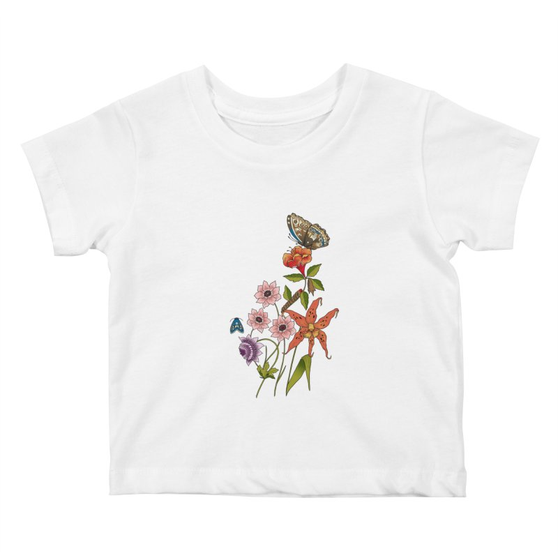 Natural History Kids Baby T-Shirt by mwashburnart's Artist Shop