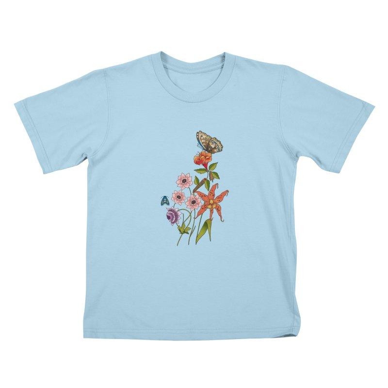 Natural History Kids T-Shirt by mwashburnart's Artist Shop