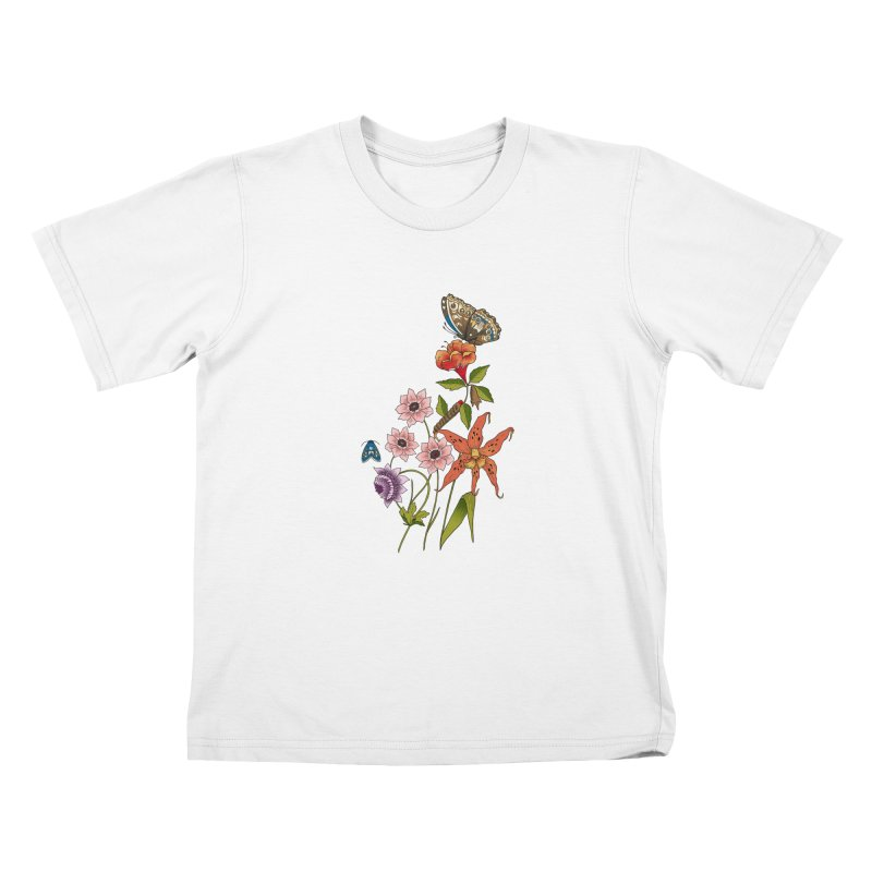 Natural History Kids T-Shirt by mwashburnart's Artist Shop