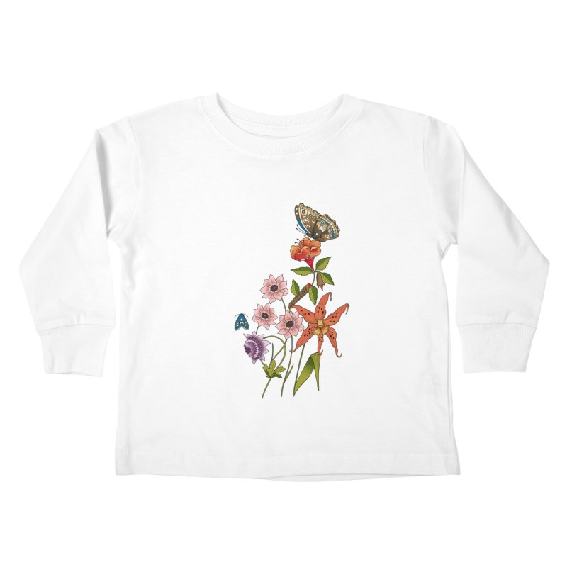 Natural History Kids Toddler Longsleeve T-Shirt by mwashburnart's Artist Shop