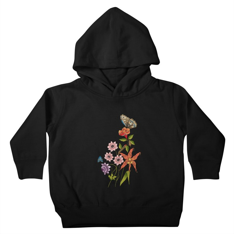 Natural History Kids Toddler Pullover Hoody by mwashburnart's Artist Shop