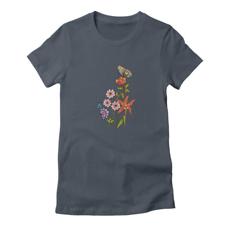 Natural History Women's T-Shirt by mwashburnart's Artist Shop