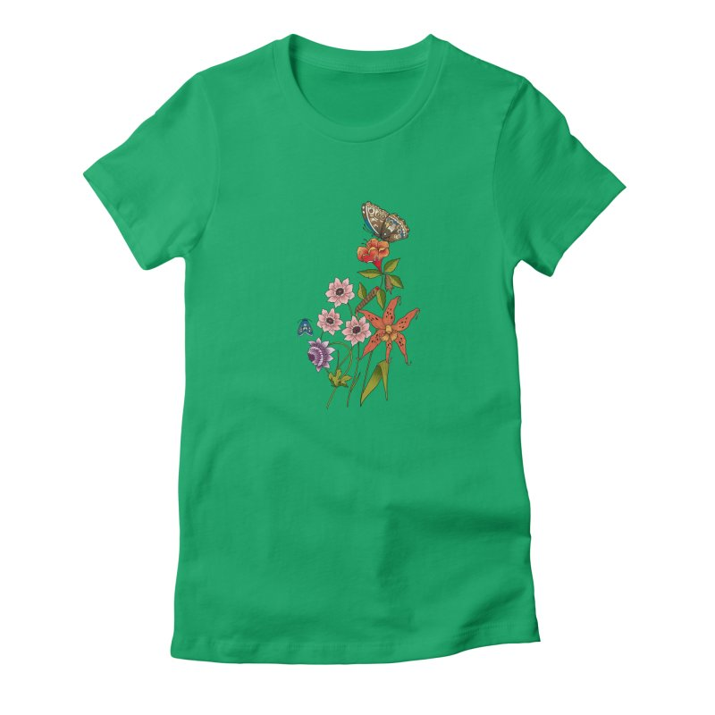 Natural History Women's Fitted T-Shirt by mwashburnart's Artist Shop