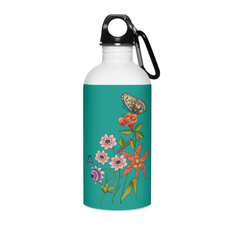 Natural History Accessories Water Bottle by mwashburnart's Artist Shop