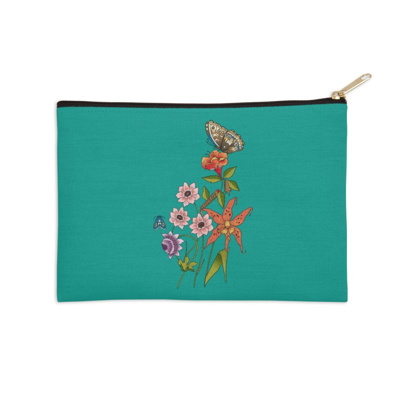 Natural History Accessories Zip Pouch by mwashburnart's Artist Shop