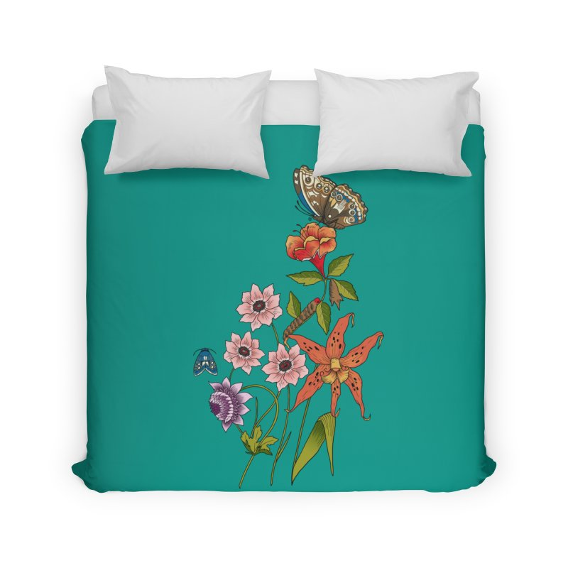 Natural History Home Duvet by mwashburnart's Artist Shop