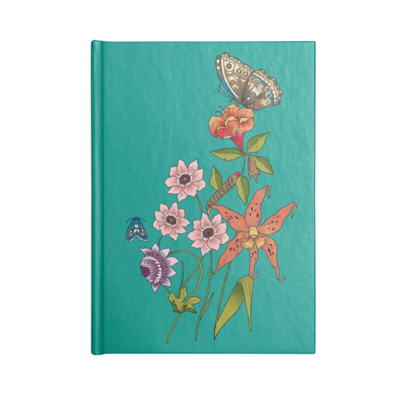 Natural History Accessories Lined Journal Notebook by mwashburnart's Artist Shop