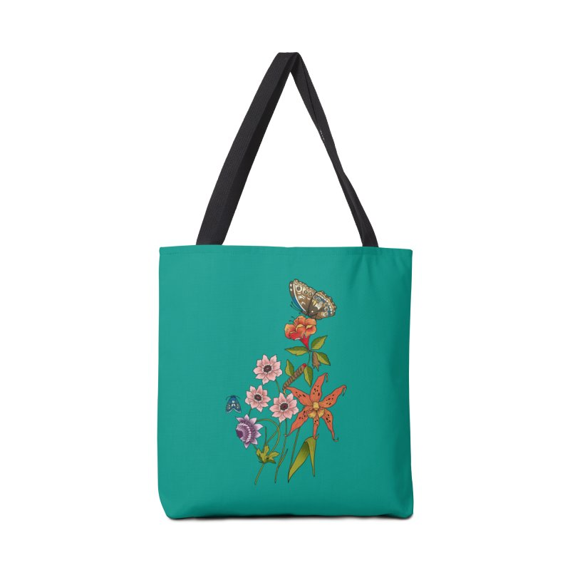 Natural History Accessories Tote Bag Bag by mwashburnart's Artist Shop
