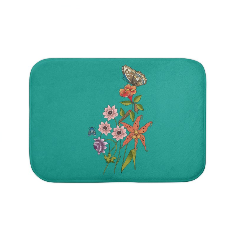 Natural History Home Bath Mat by mwashburnart's Artist Shop