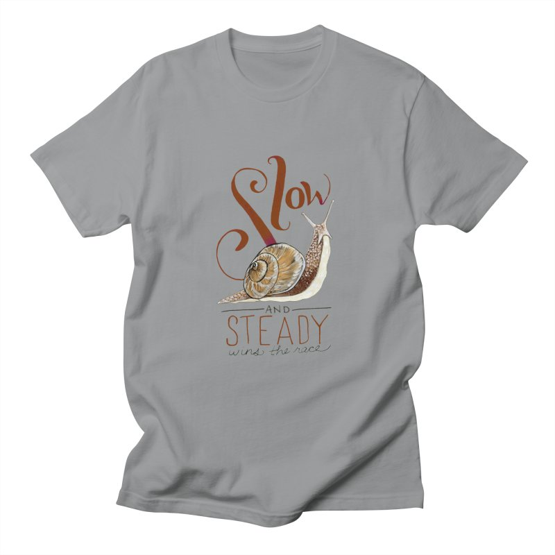 Slow and Steady Women's Regular Unisex T-Shirt by mwashburnart's Artist Shop