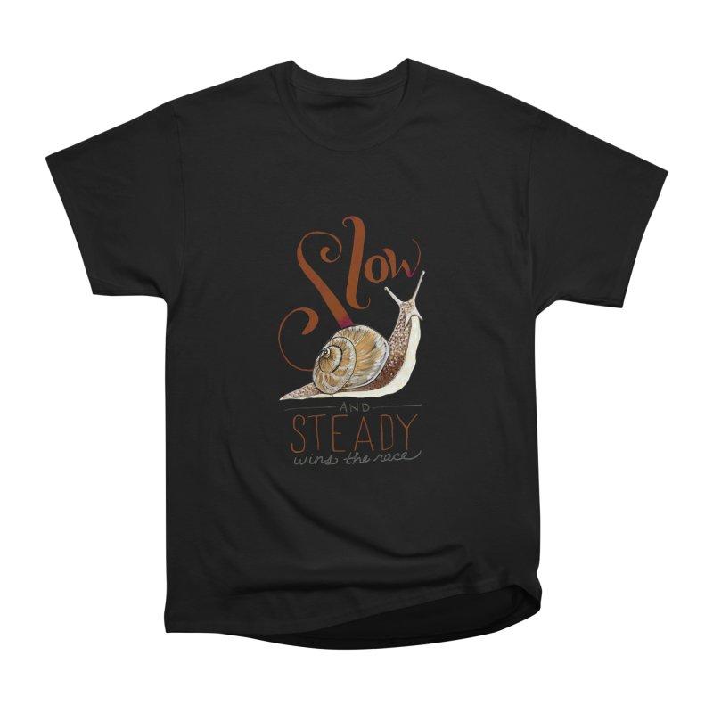 Slow and Steady Men's Heavyweight T-Shirt by mwashburnart's Artist Shop