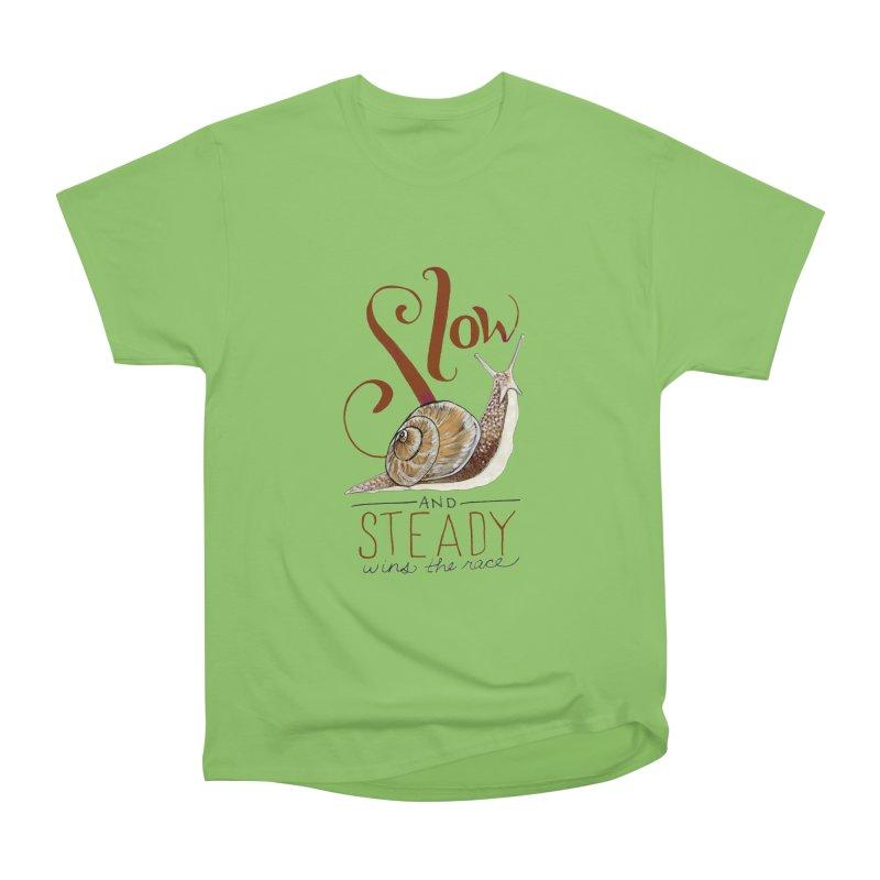 Slow and Steady Men's Heavyweight T-Shirt by mwashburnart's Artist Shop