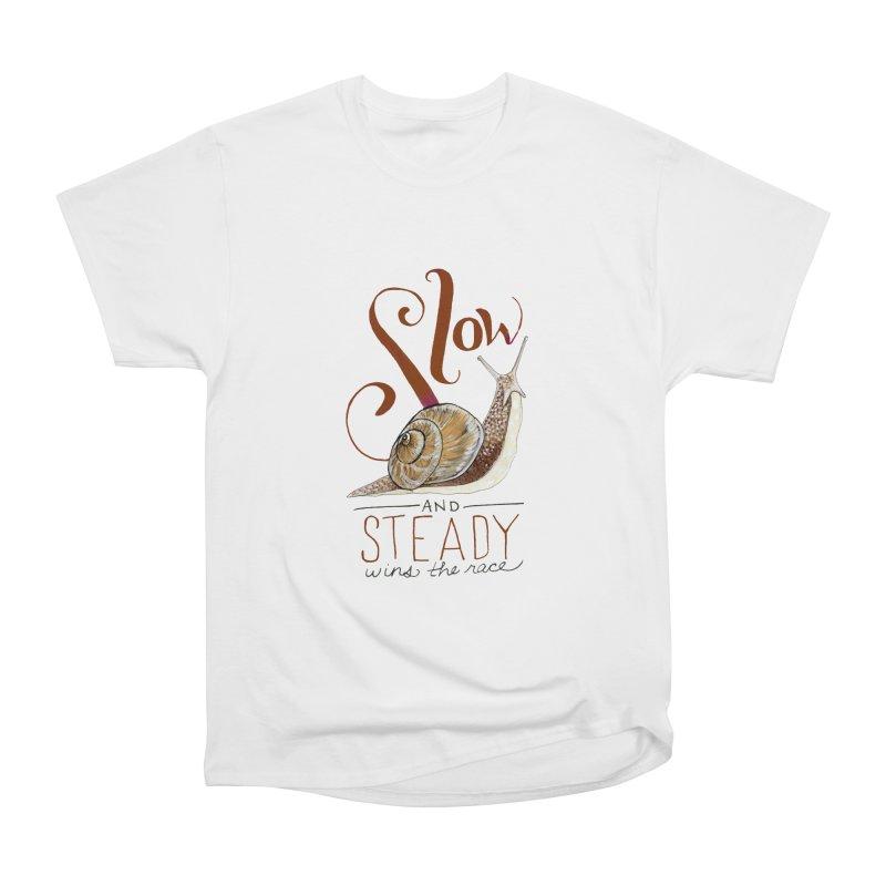 Slow and Steady Women's Heavyweight Unisex T-Shirt by mwashburnart's Artist Shop