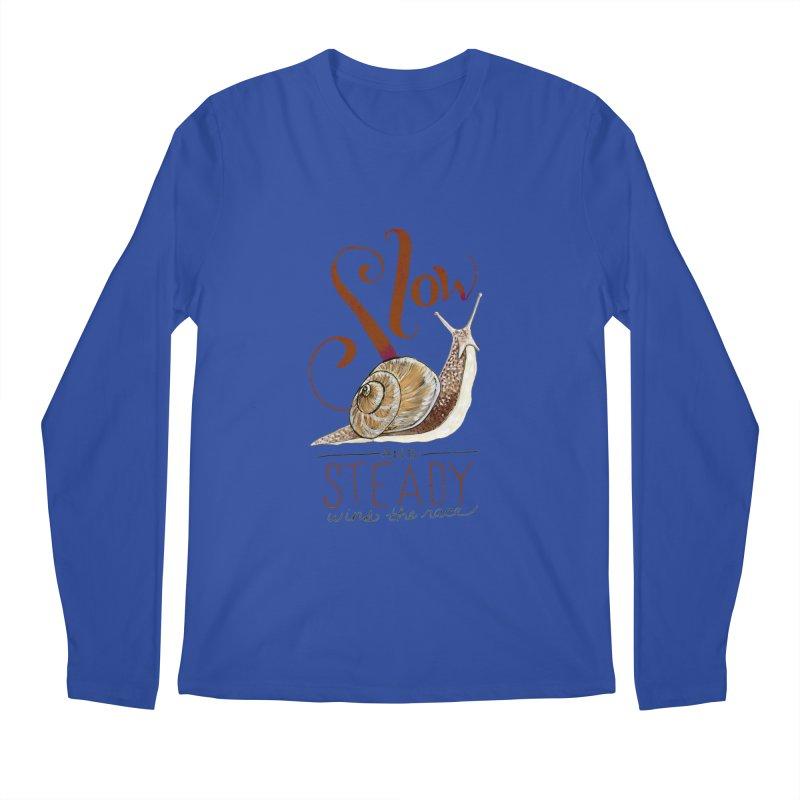 Slow and Steady Men's Regular Longsleeve T-Shirt by mwashburnart's Artist Shop