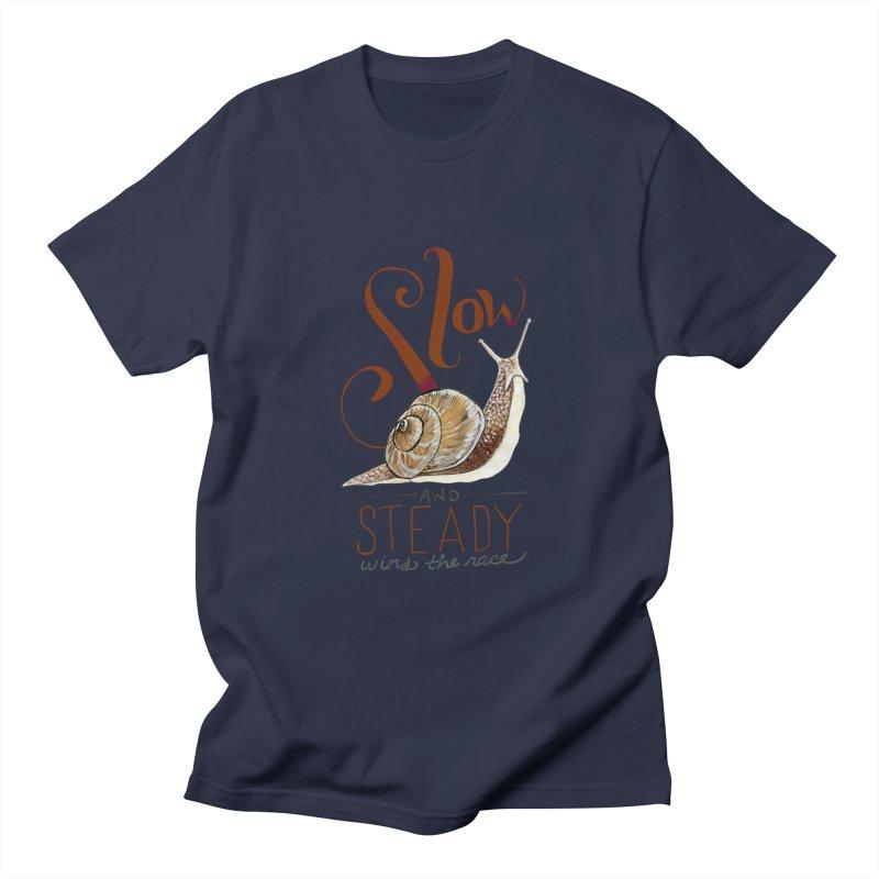 Slow and Steady Men's Regular T-Shirt by mwashburnart's Artist Shop