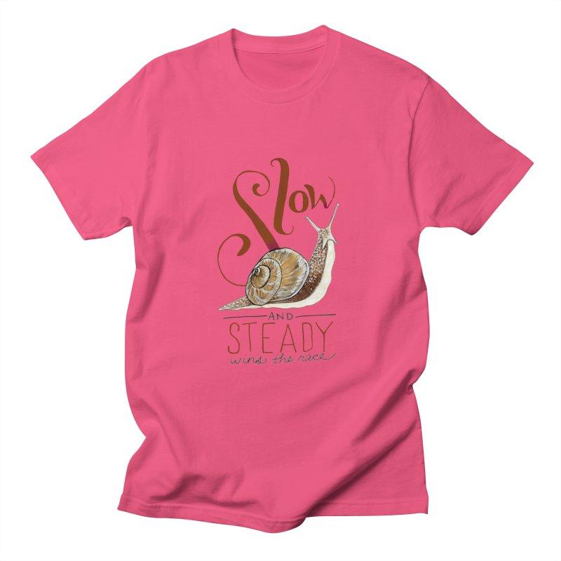 Slow and Steady Women's Regular Unisex T-Shirt by mwashburnart's Artist Shop