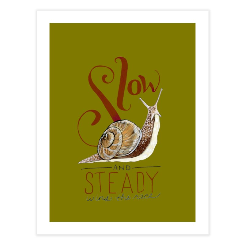 Slow and Steady Home Fine Art Print by mwashburnart's Artist Shop