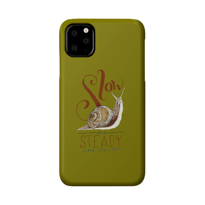Slow and Steady Accessories Phone Case by mwashburnart's Artist Shop