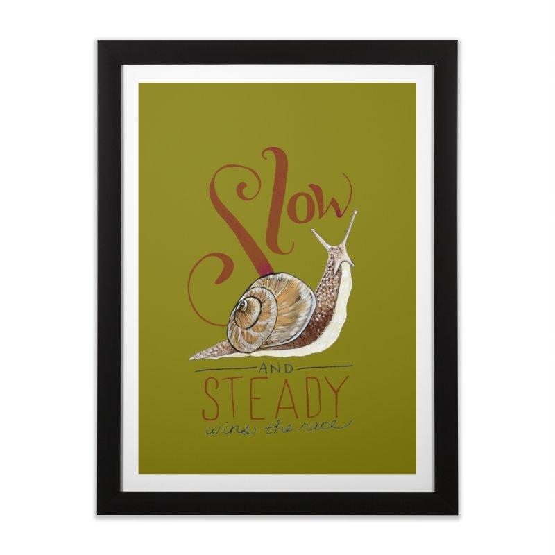 Slow and Steady Home Framed Fine Art Print by mwashburnart's Artist Shop