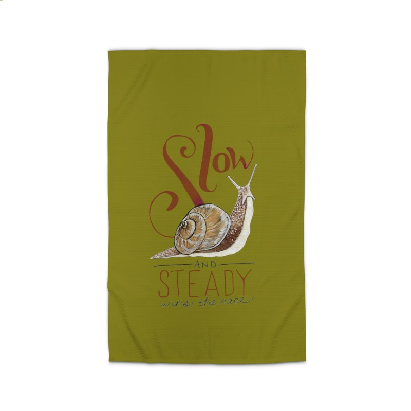 Slow and Steady Home Rug by mwashburnart's Artist Shop