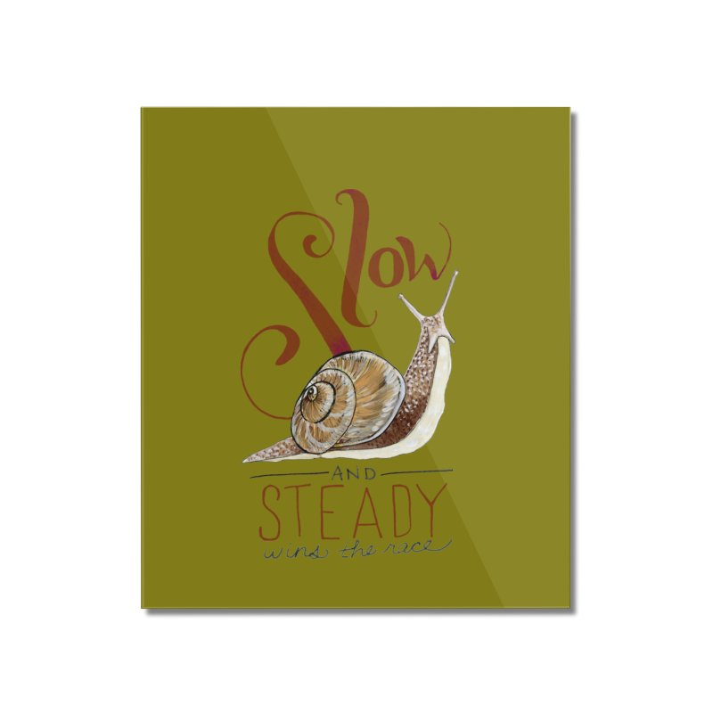 Slow and Steady Home Mounted Acrylic Print by mwashburnart's Artist Shop