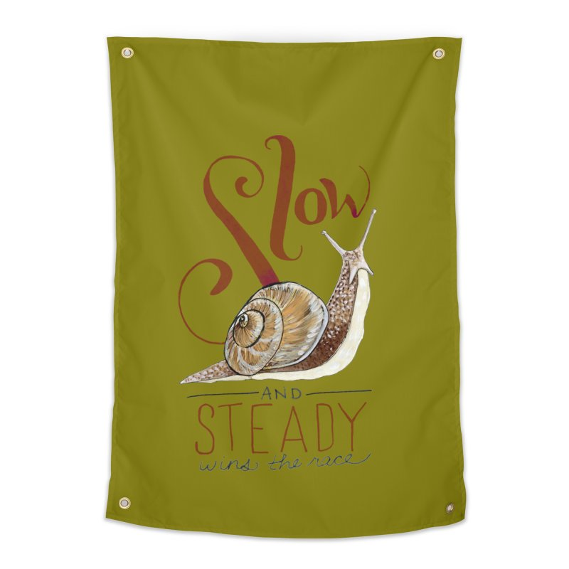 Slow and Steady Home Tapestry by mwashburnart's Artist Shop
