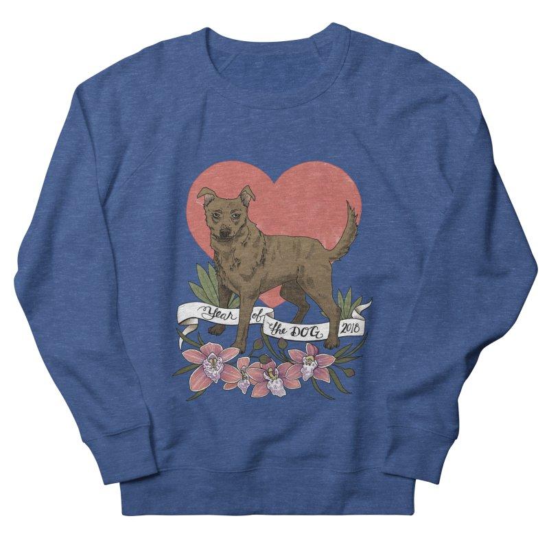 Year of the Dog Men's French Terry Sweatshirt by mwashburnart's Artist Shop