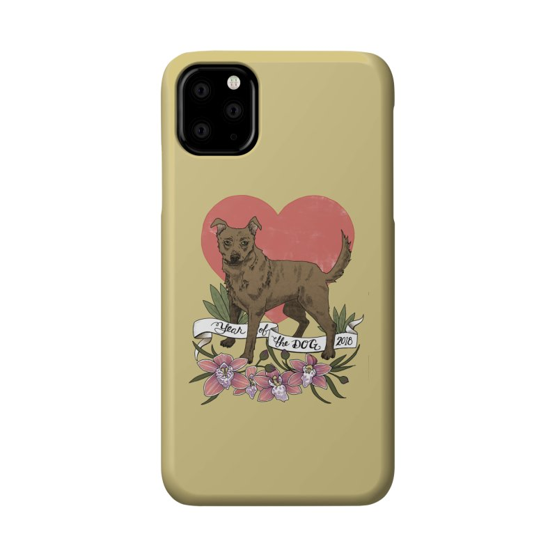 Year of the Dog Accessories Phone Case by mwashburnart's Artist Shop