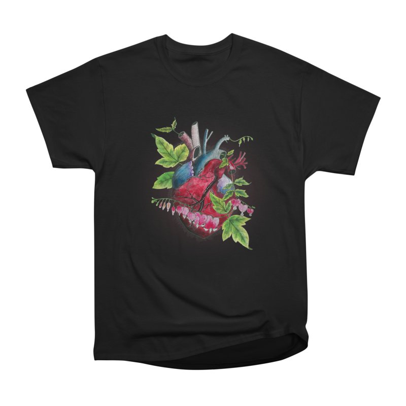 Open Hearted Men's Heavyweight T-Shirt by mwashburnart's Artist Shop