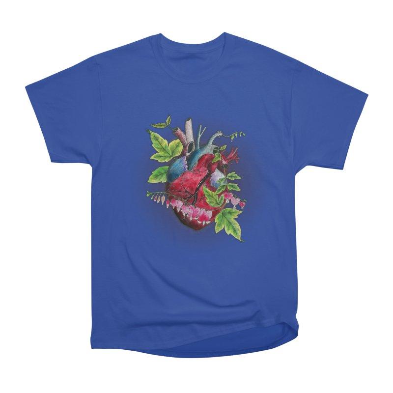 Open Hearted Men's Heavyweight T-Shirt by mwashburnart's Artist Shop