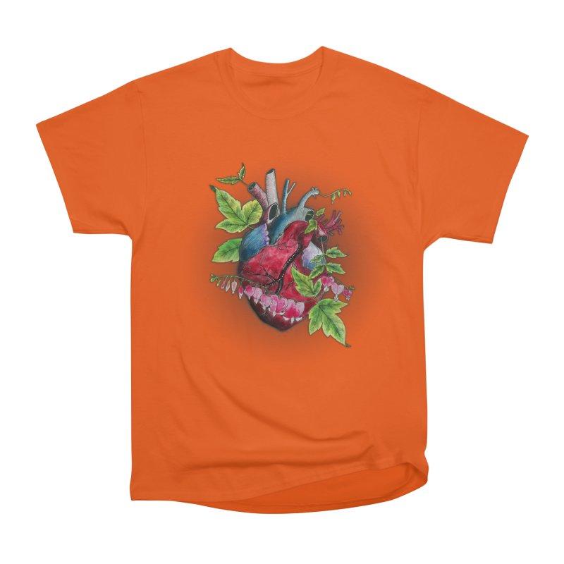 Open Hearted Women's Heavyweight Unisex T-Shirt by mwashburnart's Artist Shop