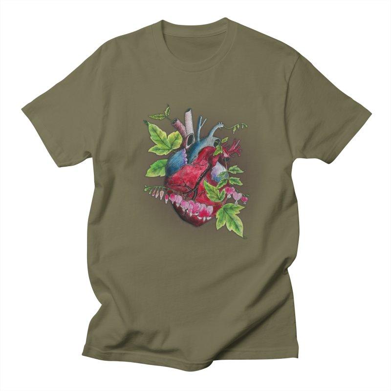 Open Hearted Women's Regular Unisex T-Shirt by mwashburnart's Artist Shop