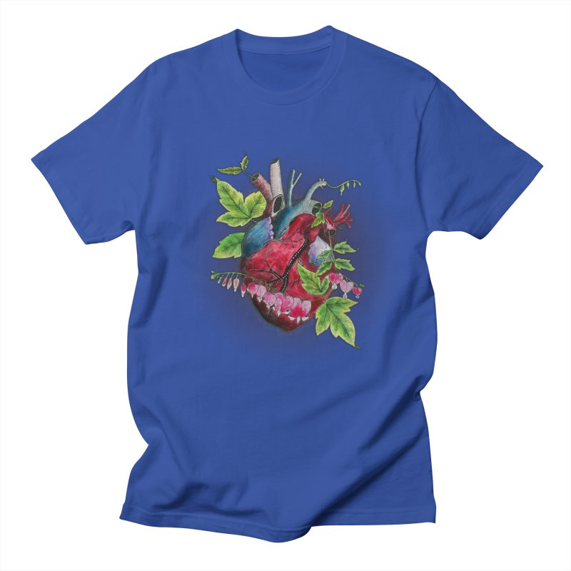 Open Hearted Men's Regular T-Shirt by mwashburnart's Artist Shop