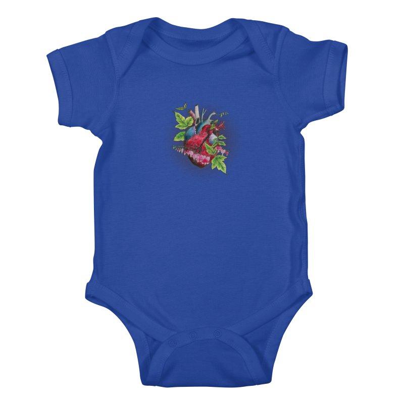 Open Hearted Kids Baby Bodysuit by mwashburnart's Artist Shop