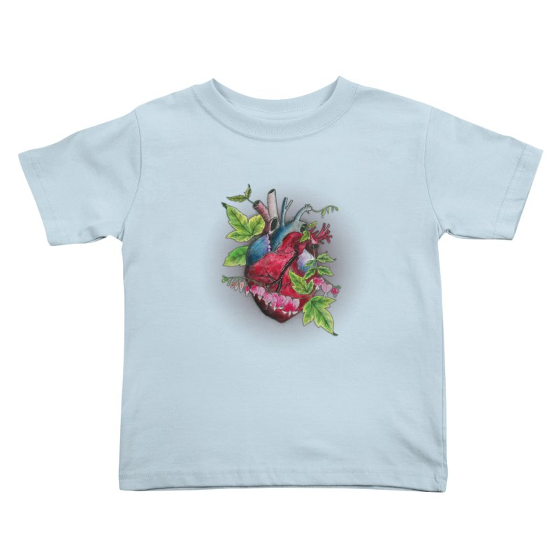 Open Hearted Kids Toddler T-Shirt by mwashburnart's Artist Shop
