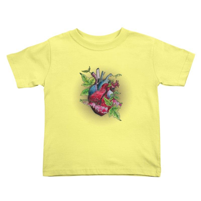 Open Hearted Kids Toddler T-Shirt by mwashburnart's Artist Shop