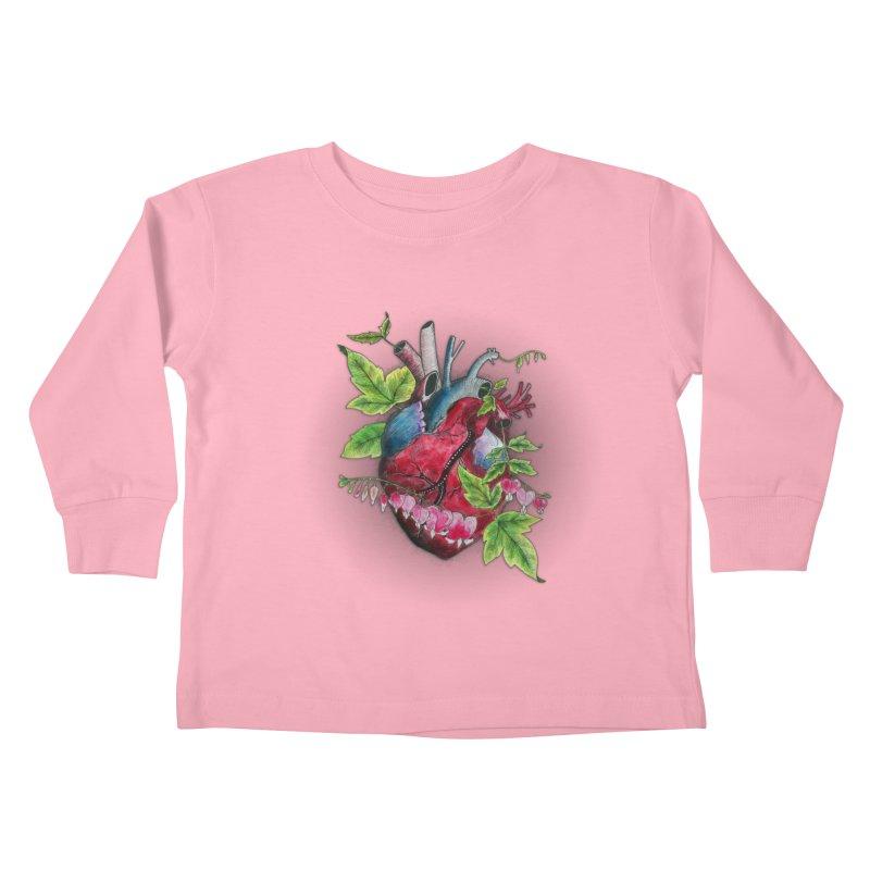 Open Hearted Kids Toddler Longsleeve T-Shirt by mwashburnart's Artist Shop