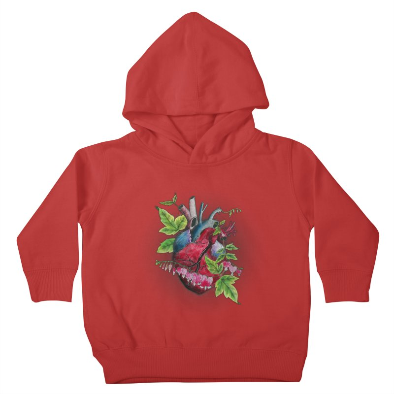 Open Hearted Kids Toddler Pullover Hoody by mwashburnart's Artist Shop