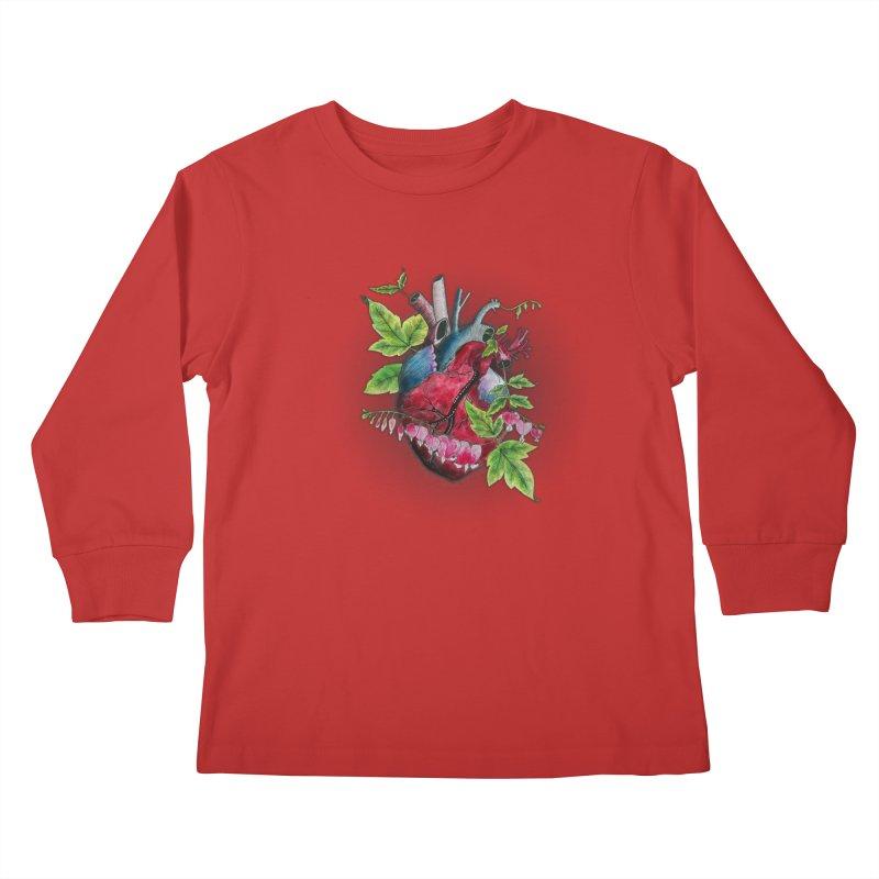 Open Hearted Kids Longsleeve T-Shirt by mwashburnart's Artist Shop