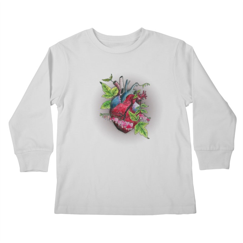 Open Hearted Kids Longsleeve T-Shirt by mwashburnart's Artist Shop