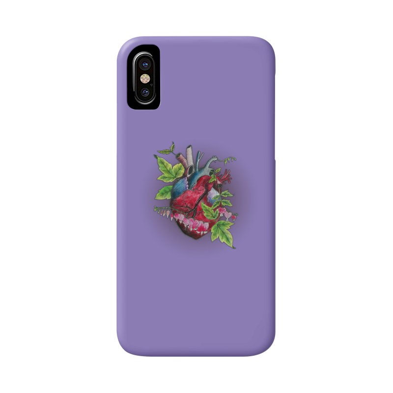 Open Hearted Accessories Phone Case by mwashburnart's Artist Shop