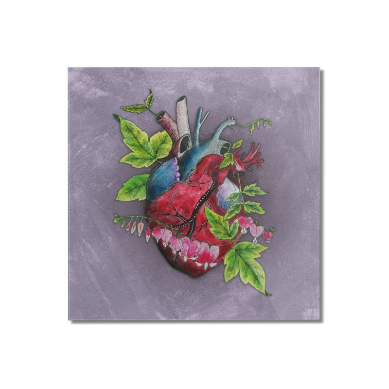 Open Hearted Home Mounted Acrylic Print by mwashburnart's Artist Shop