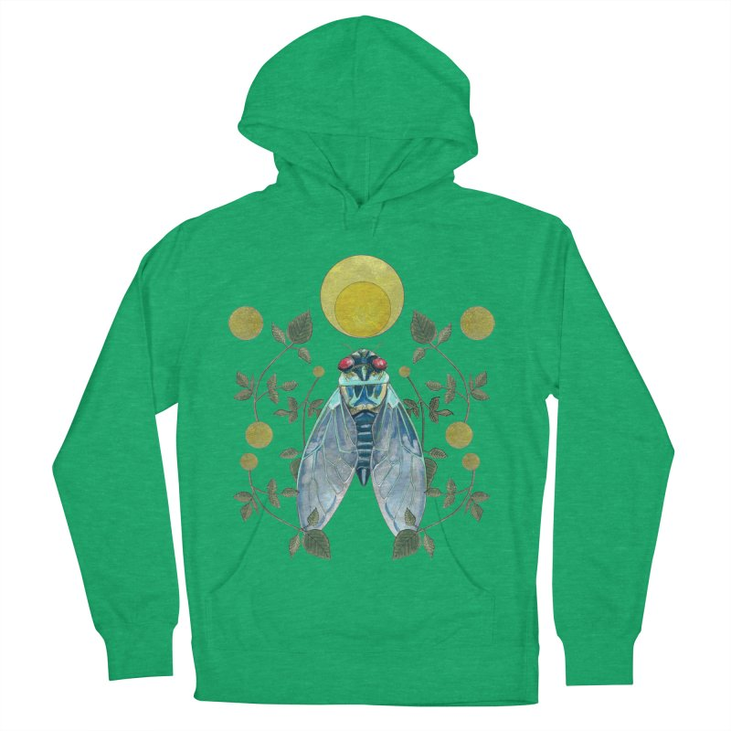 Rise Women's French Terry Pullover Hoody by mwashburnart's Artist Shop