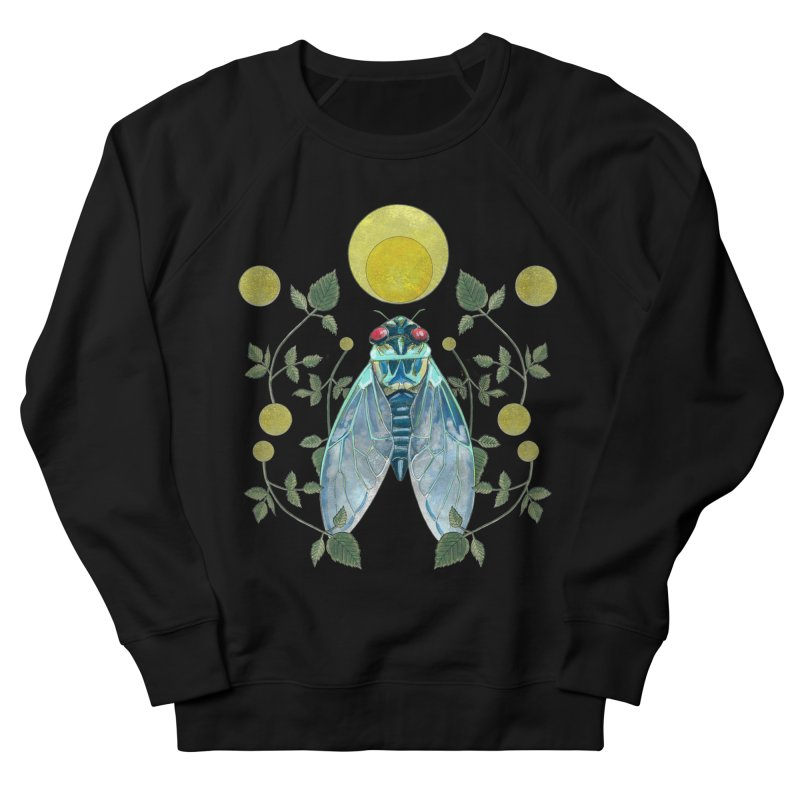 Rise Women's French Terry Sweatshirt by mwashburnart's Artist Shop