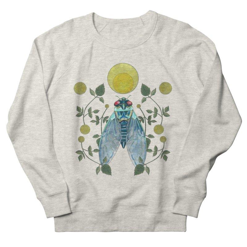 Rise Women's French Terry Sweatshirt by mwashburnart's Artist Shop