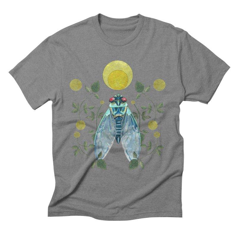 Rise Men's Triblend T-Shirt by mwashburnart's Artist Shop