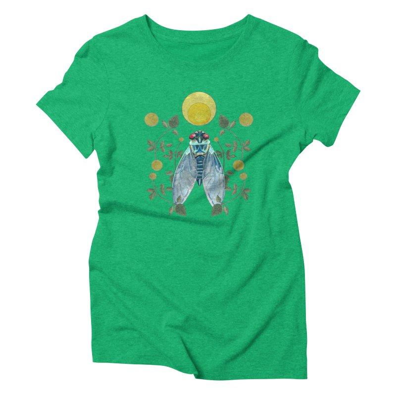 Rise Women's Triblend T-Shirt by mwashburnart's Artist Shop