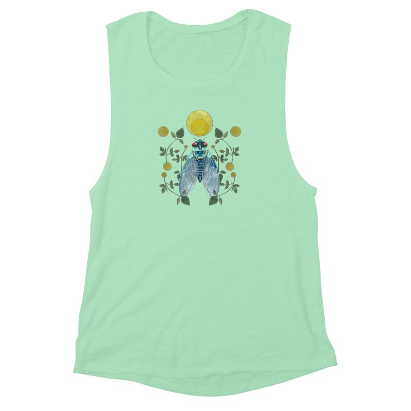 Rise Women's Muscle Tank by mwashburnart's Artist Shop